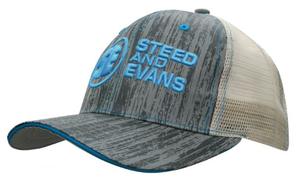 Wood Printed With Mesh Back (4143) 1     Promotion Wear