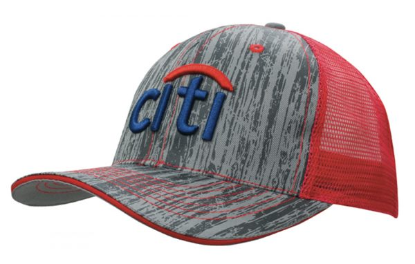 Wood Printed With Mesh Back (4144) 1 | | Promotion Wear