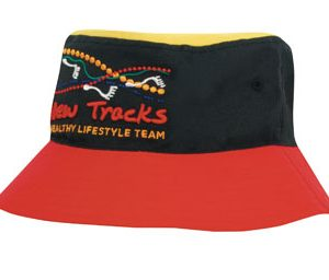 Breathable Poly Twill Multicoloured Bucket Hat(4220) 1 | | Promotion Wear