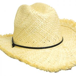 Frayed Edge Cowboy Straw(4280) 2 | | Promotion Wear