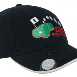 Brushed Heavy Cotton with Magnetic Ball Marker on Peak ( 4035) 1 | | Promotion Wear