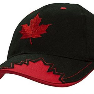 Brushed Heavy Cotton with Maple Leaf Insert on Peak (4085) 4     Promotion Wear