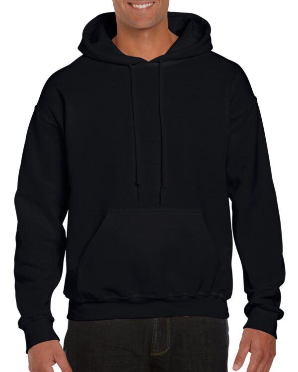 Gildan Dryblend Adult Hooded Sweatshirt Black Xlarge (12500) 1     Promotion Wear