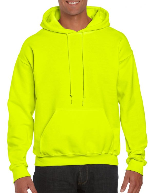 Gildan Dryblend Adult Hooded Sweatshirt Safety Green Large (12500) 1 | | Promotion Wear