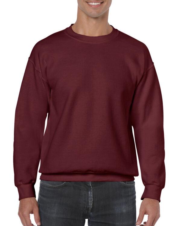Gildan Heavy Blend Adult Crewneck Sweatshirt Maroon 2Xlarge (18000) 1 | | Promotion Wear