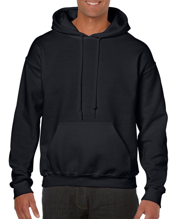 Gildan Heavy Blend Adult Hooded Sweatshirt Black 3Xlarge (18500) 1 | | Promotion Wear