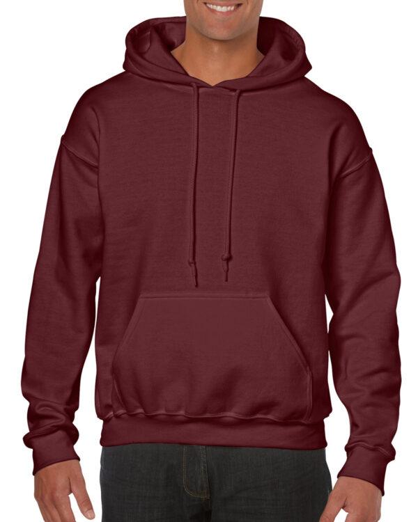 Gildan Heavy Blend Adult Hooded Sweatshirt Maroon Medium (18500) 1 | | Promotion Wear