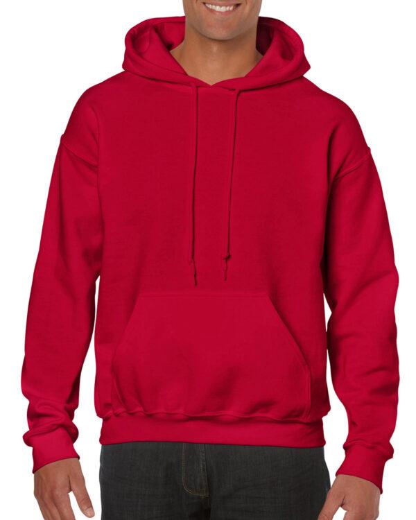 Gildan Heavy Blend Adult Hooded Sweatshirt Cherry Red Xlarge (18500) 1 | | Promotion Wear