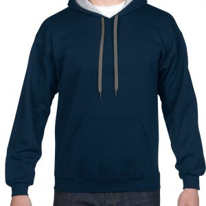 Gildan Heavy Blend Adult Contrast Hooded Sweatshirt (185C00) 3     Promotion Wear