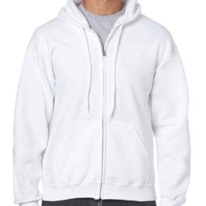 Gildan Heavy Blend Adult Full Zip Hooded Sweatshirt (18600) 5     Promotion Wear