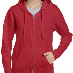 Gildan Heavy Blend Ladies' Full Zip Hooded Sweatshirt (18600FL) 7     Promotion Wear