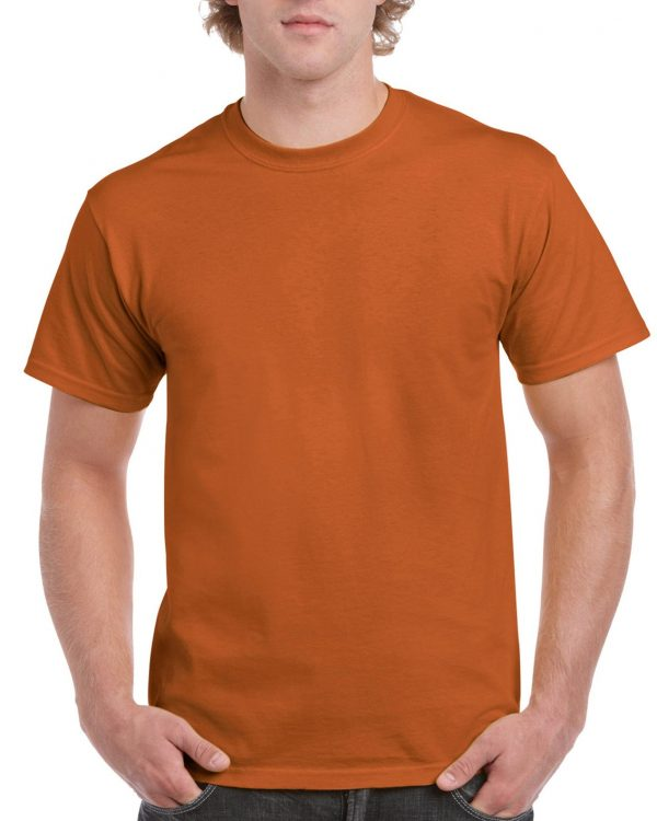 Gildan Ultra Cotton Adult T-Shirt Texas Orange Medium (2000) 1 | | Promotion Wear
