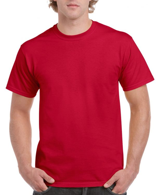 Gildan Ultra Cotton Adult T-Shirt Cherry Red Large (2000) 1 | | Promotion Wear