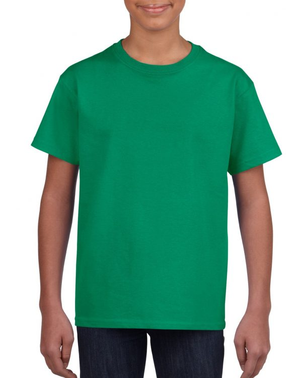 Gildan Heavy Cotton Youth T-Shirt Safety Green Large (5000B) 1 | | Promotion Wear