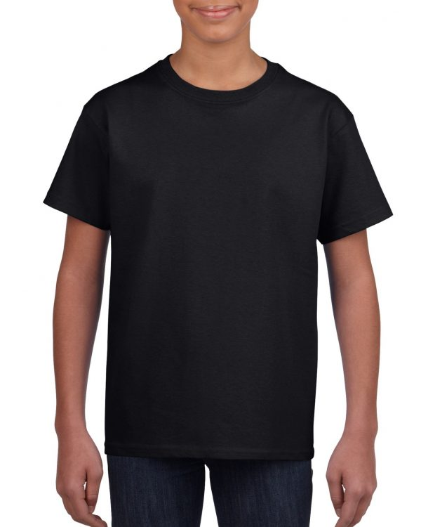 Gildan Youth Ultra Cotton T-Shirt Black Large (2000B) 1 | | Promotion Wear
