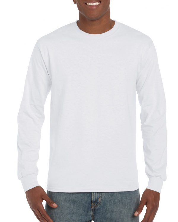 Gildan Ultra Cotton Adult Long Sleeve T-Shirt White Large (2400) 1 | | Promotion Wear