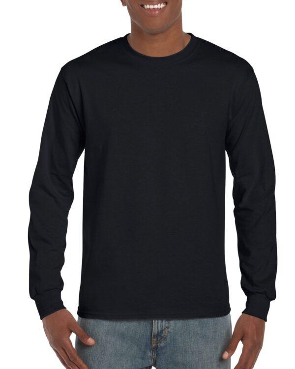 Gildan Ultra Cotton Adult Long Sleeve T-Shirt Black Large (2400) 1 | | Promotion Wear