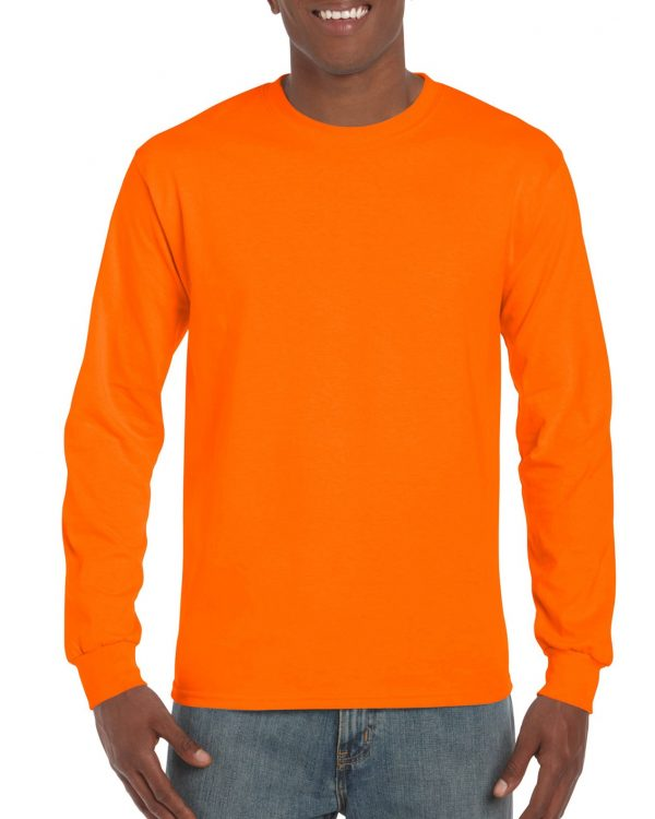 Gildan Ultra Cotton Adult Long Sleeve T-Shirt S.Orange Large (2400) 1 | | Promotion Wear