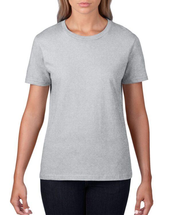 Gildan Premium Cotton Adult T-Shirt Sports Grey 2Xlarge ((4100) 1 | | Promotion Wear
