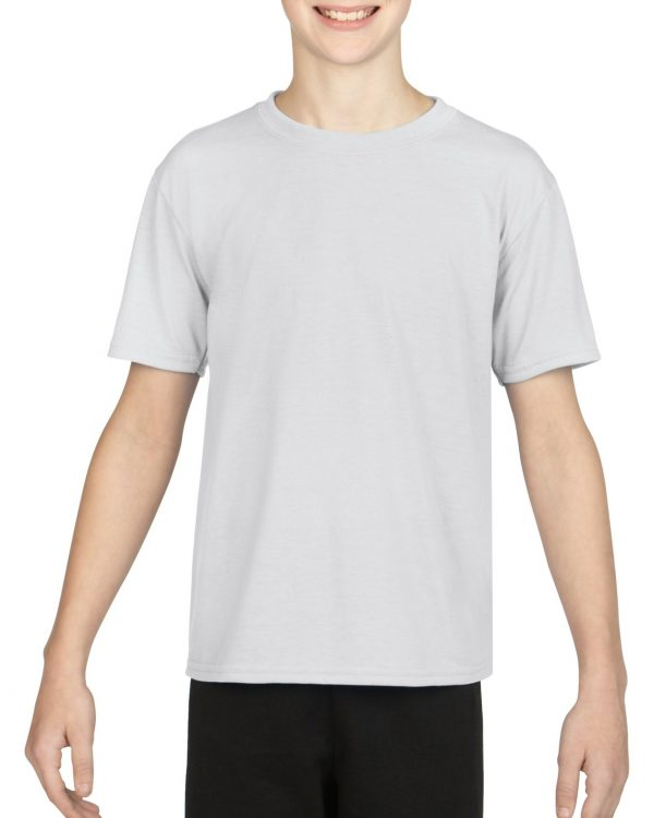 Gildan Performance Youth T-Shirt White Small (42000B) 1 | | Promotion Wear