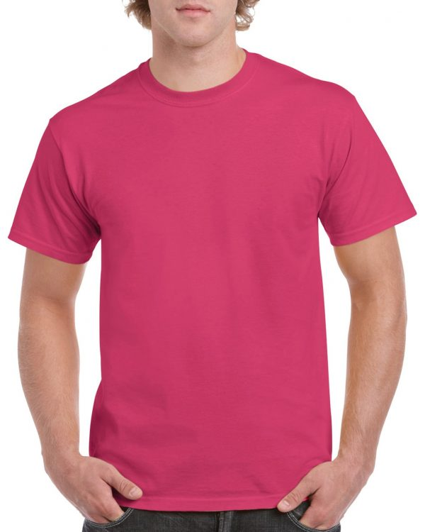 Gildan Heavy Cotton Adult T-Shirt Heliconia Large (5000) 1 | | Promotion Wear