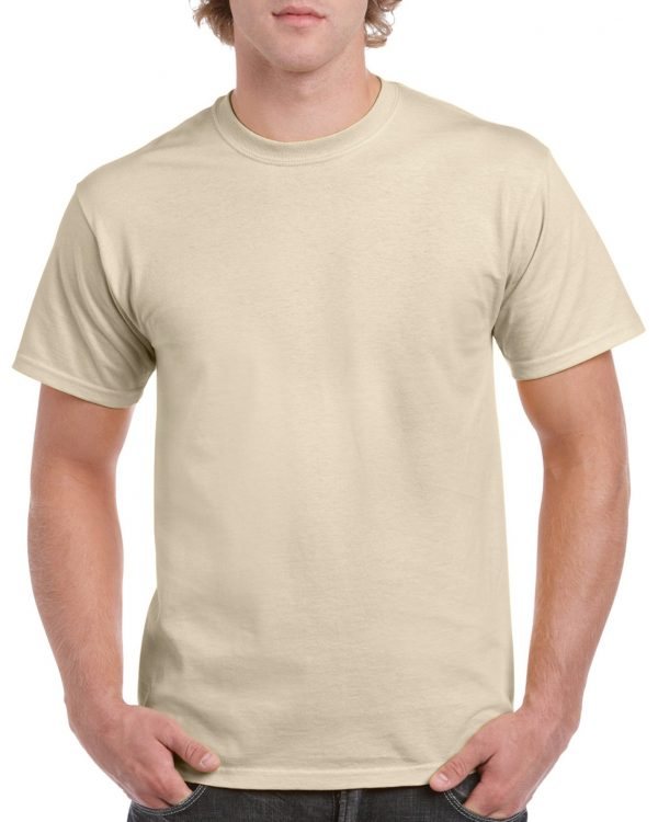 Gildan Heavy Cotton Adult T-Shirt Sand Small (5000) 1 | | Promotion Wear