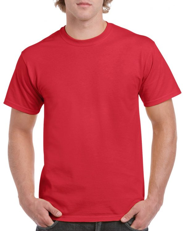 Gildan Heavy Cotton Adult T-Shirt Heather Red Xlarge (5000) 1 | | Promotion Wear
