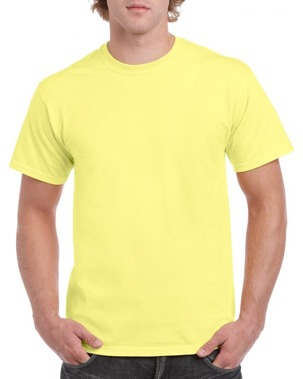 Gildan Heavy Cotton Adult T-Shirt Cornsilk Medium (5000) 1 | | Promotion Wear