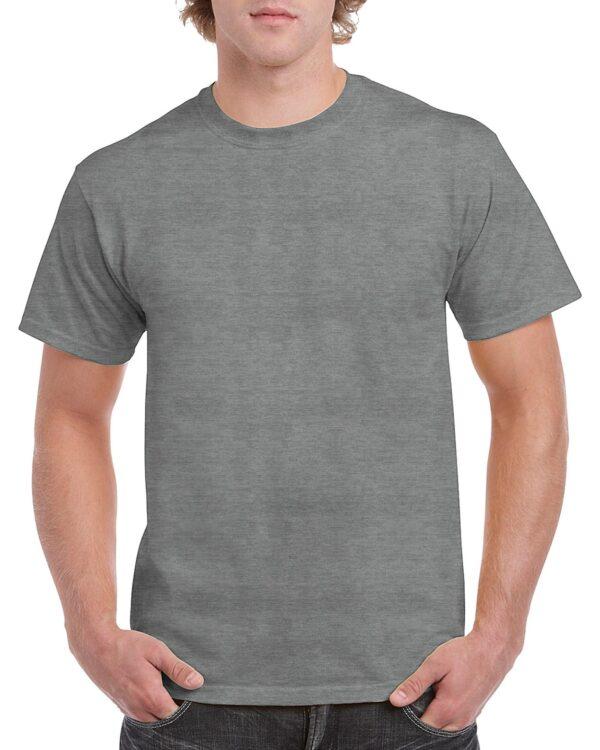 Gildan Heavy Cotton Adult T-Shirt Graphite Heather Small (5000) 1 | | Promotion Wear