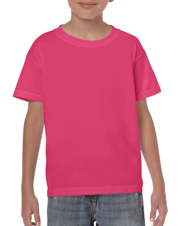 Gildan Heavy Cotton Youth T-Shirt Heliconia Xsmall (5000B) 1 | | Promotion Wear