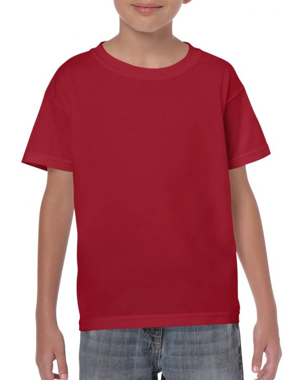 Gildan Heavy Cotton Youth T-Shirt Cardinal Red Small (5000B) 1 | | Promotion Wear