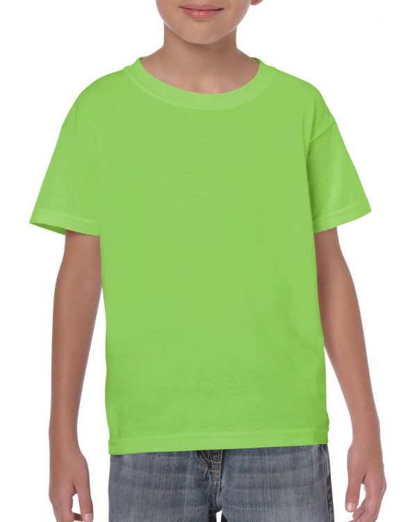 Gildan Heavy Cotton Youth T-Shirt Lime Large (5000B) 1 | | Promotion Wear