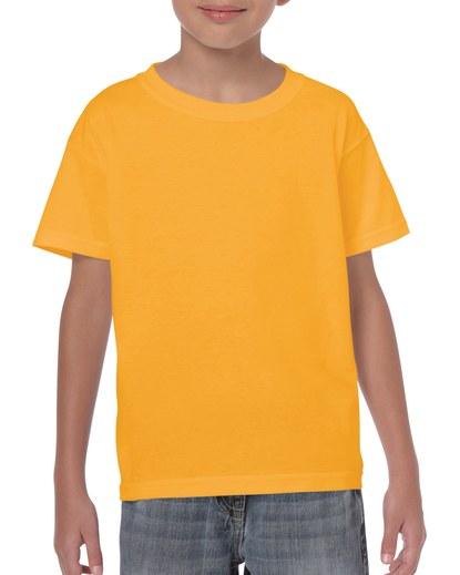 Gildan Heavy Cotton Youth T-Shirt Gold Small (5000B) 1 | | Promotion Wear