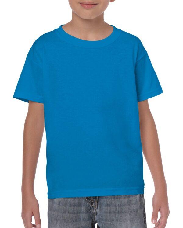 Gildan Heavy Cotton Youth T-Shirt Sapphire Medium (5000B) 1     Promotion Wear