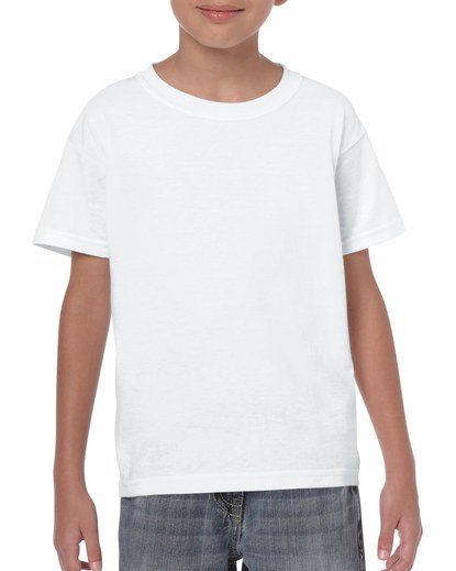 Gildan Heavy Cotton Youth T-Shirt White Small (5000B) 1 | | Promotion Wear