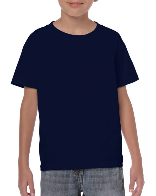 Gildan Heavy Cotton Youth T-Shirt Navy Xlarge (5000B) 1 | | Promotion Wear