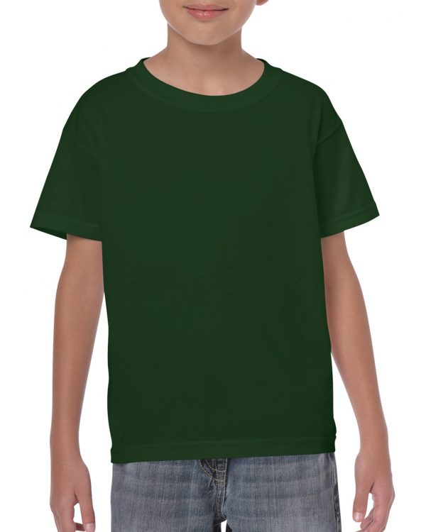 Gildan Heavy Cotton Youth T-Shirt Forest Green Large (5000B) 1 | | Promotion Wear