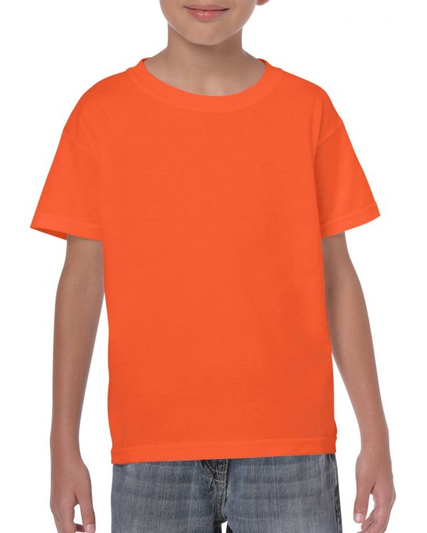 Gildan Heavy Cotton Youth T-Shirt Orange Medium (5000B) 1 | | Promotion Wear