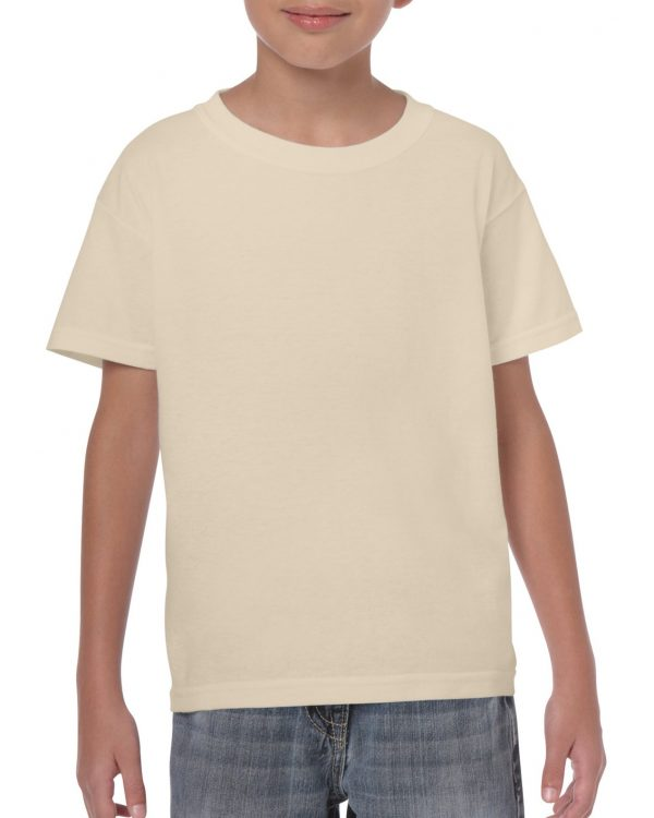 Gildan Heavy Cotton Youth T-Shirt Sand Small (5000B) 1 | | Promotion Wear
