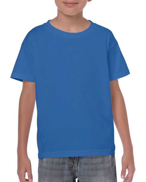 Gildan Heavy Cotton Youth T-Shirt Royal Small (5000B) 1 | | Promotion Wear