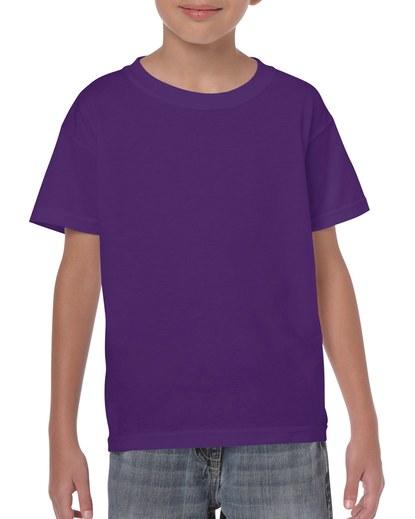 Gildan Heavy Cotton Youth T-Shirt Purple Xsmall (5000B) 1     Promotion Wear