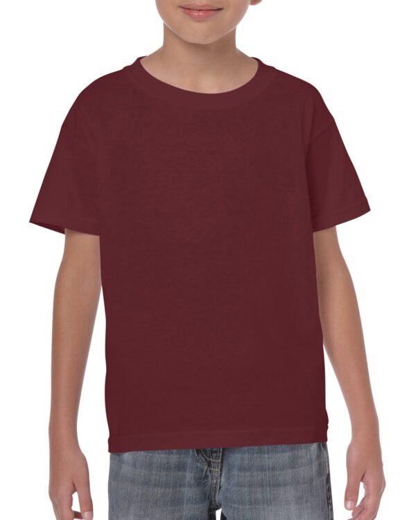 Gildan Heavy Cotton Youth T-Shirt Maroon Medium (5000B) 1 | | Promotion Wear