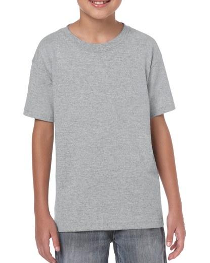 Gildan Heavy Cotton Youth T-Shirt Sport Grey Medium (5000B) 1 | | Promotion Wear