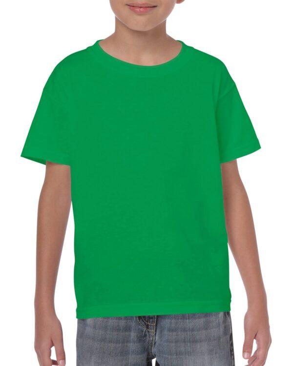 Gildan Heavy Cotton Youth T-Shirt Irish Green Large (5000B) 1 | | Promotion Wear