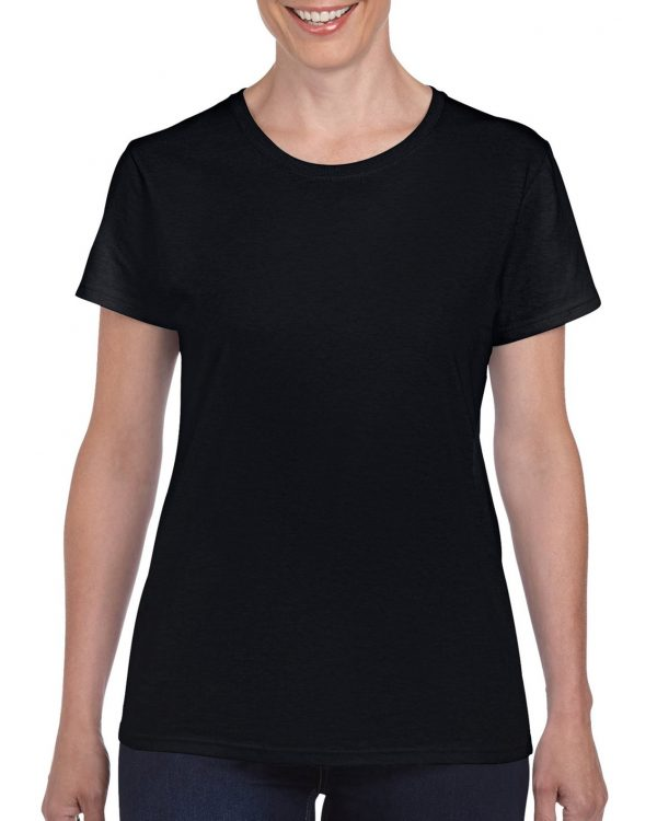 Gildan Heavy Cotton Ladies' T-Shirt Black Xlarge (5000L) 1 | | Promotion Wear
