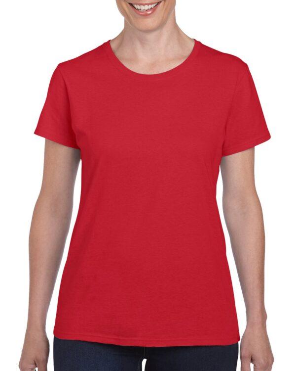 Gildan Heavy Cotton Ladies' T-Shirt Red Large (5000L) 1 | | Promotion Wear