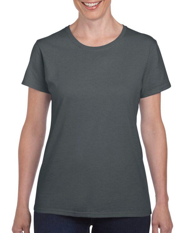 Gildan Heavy Cotton Ladies' T-Shirt Charcoal Medium (5000L) 1 | | Promotion Wear