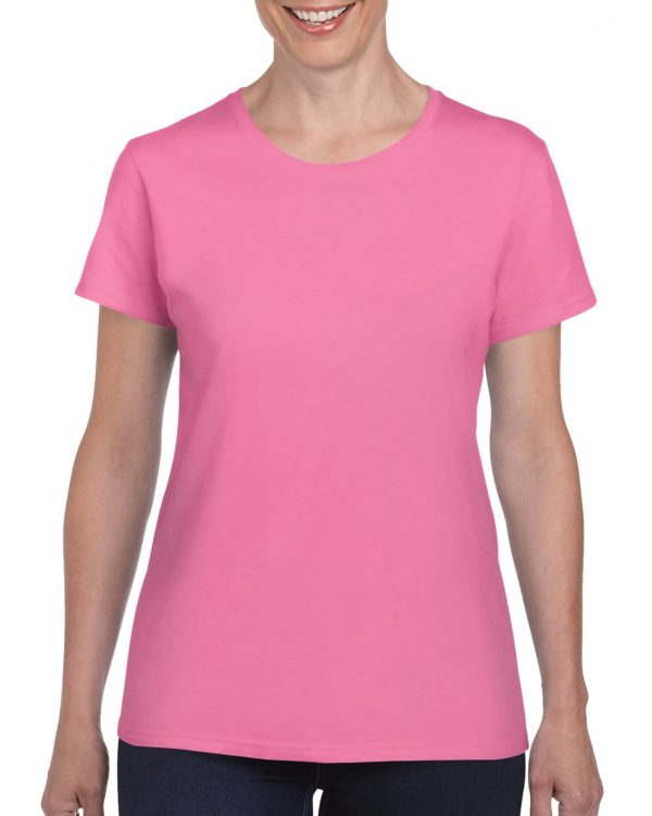 Gildan Heavy Cotton Ladies' T-Shirt Azalea Medium (5000L) 1 | | Promotion Wear