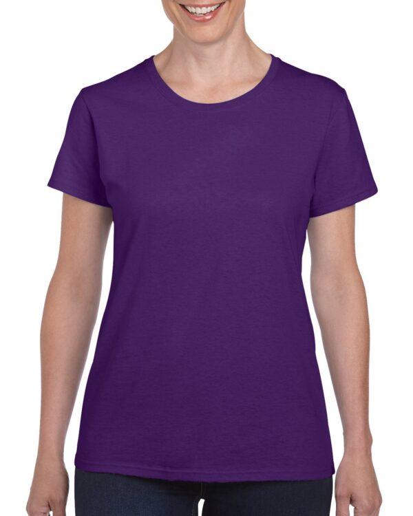 Gildan Heavy Cotton Ladies' T-Shirt Purple Large (5000L) 1 | | Promotion Wear