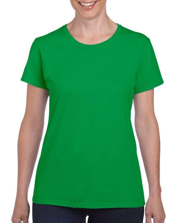 Gildan Heavy Cotton Ladies' T-Shirt Irish Green 2Xlarge (5000L) 1 | | Promotion Wear